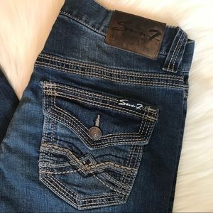 Men's Seven 7 Straight Leg Jeans Sz 30 X 32